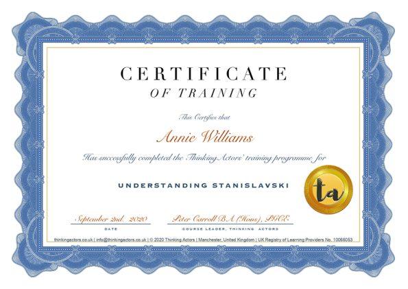 Amalannie Certificate (2)